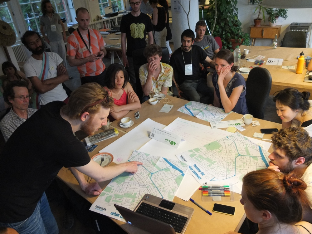 "Community mapping workshop in Berlin ""Mapping the urban commons"", June 2015"